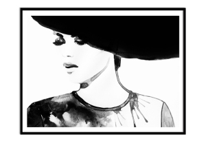Poster fashion victim