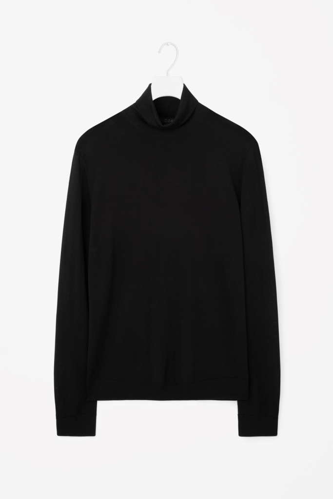 Cos - Merino roll-neck jumper