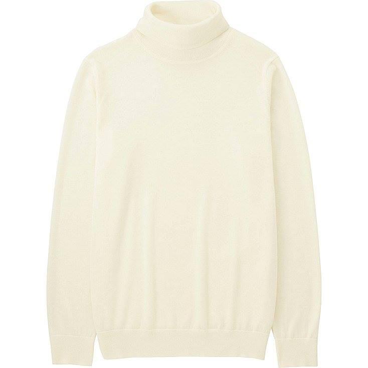 Uniqlo - Extra fine merino turtleneck sweater
