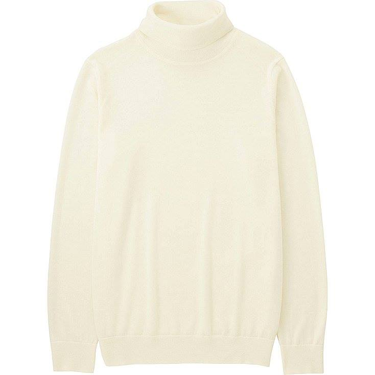 Uniqlo - Extra fine merino turtleneck sweater