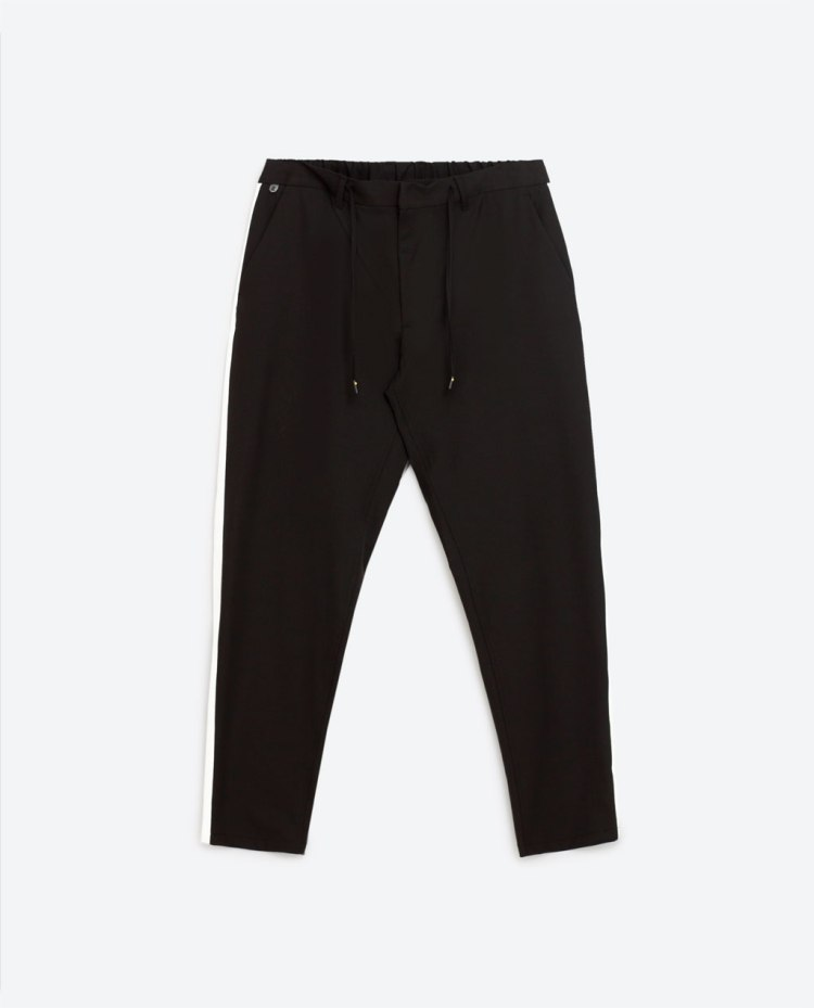 Zara - trousers with side band