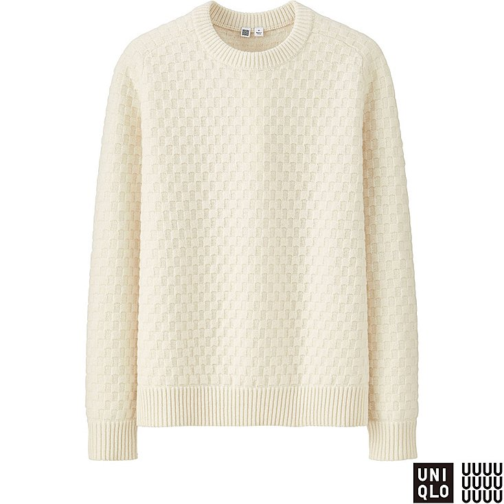 Uniqlo - lambswool crew neck sweater