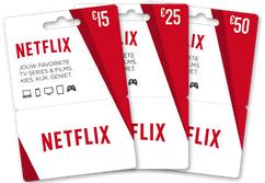 Netflix prepaidkaart