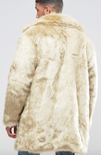 The New County - Faux fur coat