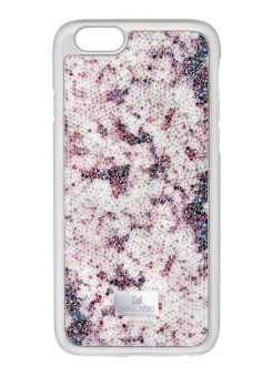 Swarovski crystal flower telefoonhoes voor iphone