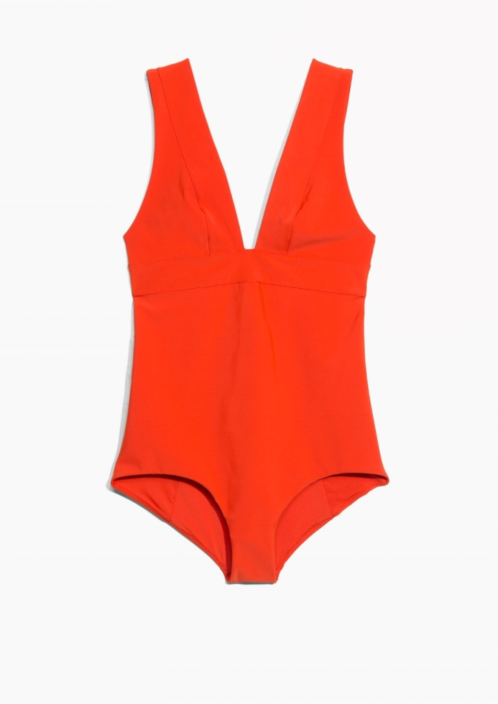 -Neck Swimsuit And Other Stories