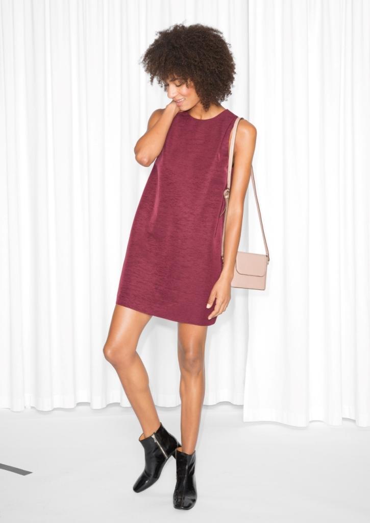 Sleeveless Cocoon Dress