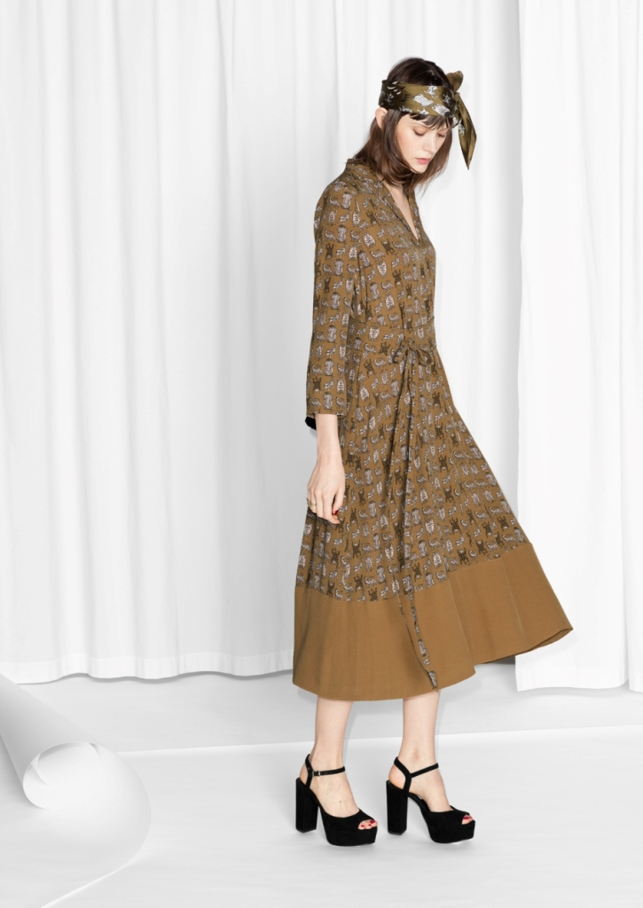 Tigress Print Dress