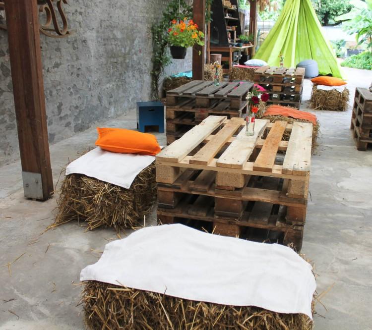 Bohemian garden party