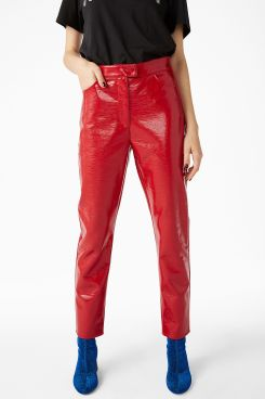 Monki - Patent trousers