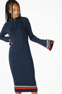 Monki - Ribbed sweater dress