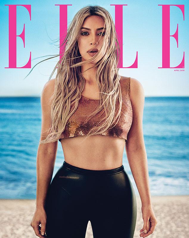 Kim Kardashian x Elle - Boo George